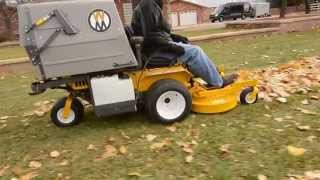 Walker Mowers | Leafs fall cleaning