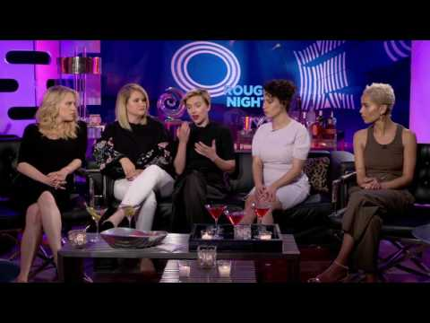 Rough Night Full Interview Scarlett Johansson, Kate McKinnon, Jillian Bell, Ilana Glazer, ZoeKravitz