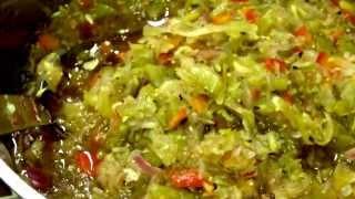 Canning Zucchini & Pepper Relish- Part 3.  Cookingexploitz.wordpress.com
