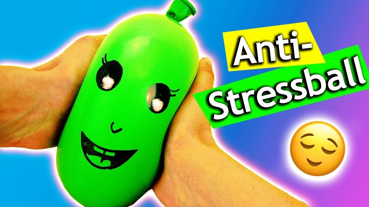 Antistressball Selber Machen Ohne Schleim Und Kleber In 1 Minute