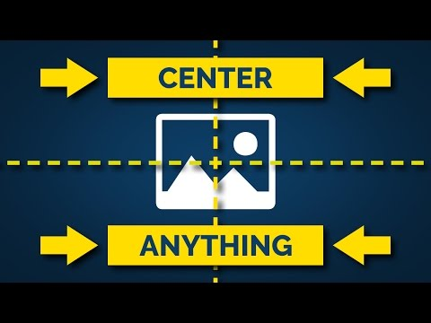 How To Center Things In Photoshop