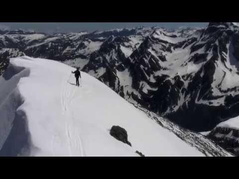 Pico Taillon (3144 m) con esquís