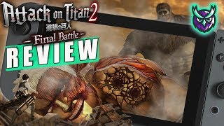 A.O.T 2: Final Battle Nintendo Switch Review (Attack on Titan 2) (Video Game Video Review)