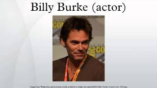 Billy Burke (actor)