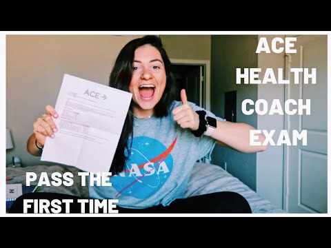 ACE HEALTH COACH EXAM//tips+tricks+how to pass the first time
