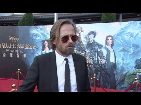 Pirates Of The Caribbean Dead Men Tell No Tales Shanghai Premiere Joachim Ronning