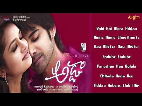 Adda full songs Jukebox | Sushanth, Anup Rubens, Addaa, Shanvi