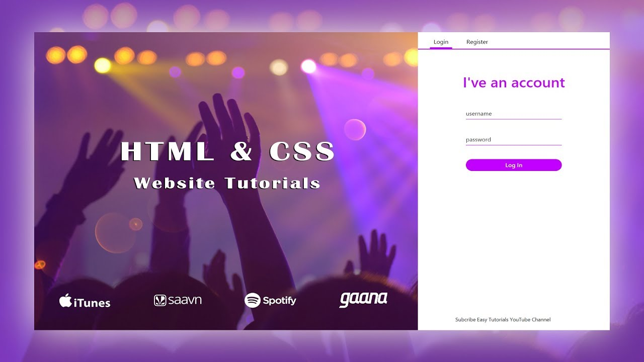 How To Make Website Using HTML And CSS Step By Step | HTML Website Tutorial