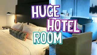 NYC HOTEL SUITE TOUR! // ExtraJill