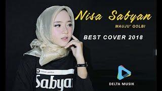 MAUJU' QOLBI + Lyrik - Si Cantik Nisa Sabyan (Cover 2018)