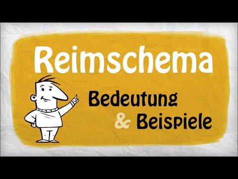 Reimschema (Deutsch) | Beispiele & Bedeutung