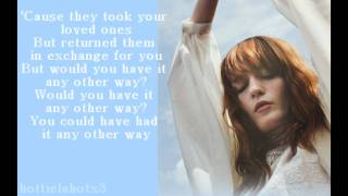 florence the machine what the water gave me lyrics