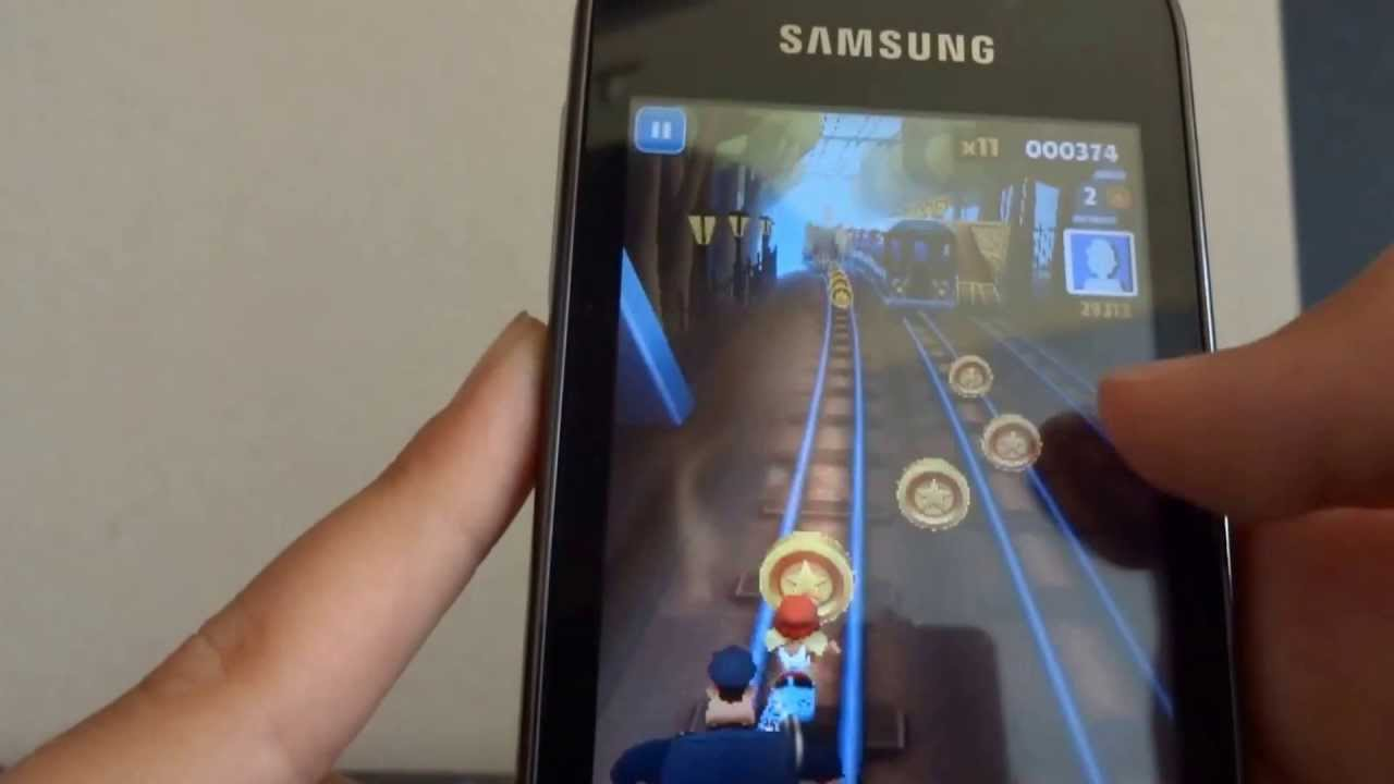 How to install-run subway surfers on samsung galaxy y without lag.