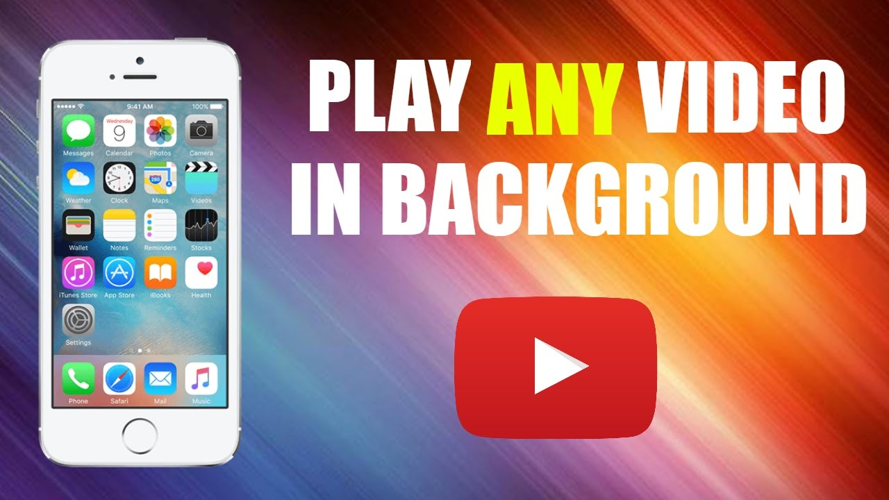 how to play youtube in background iphone play vidoes in the background of your iphone 2477
