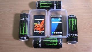 Sony Xperia XZ vs Samsung Galaxy S7 Edge Monster Freeze Test 10 Hours! Who will Win?!