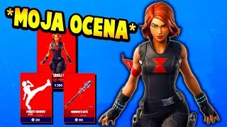 JUDGE SKIN BLACK WIDOW + CONTEST! MY RATING OF FORTNITE BLACK WIDOW OUTFIT