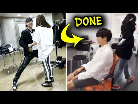 When The Staff Is So Done With BTS