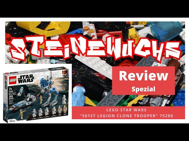 Review - Lego 501 Legion Clone Trooper 75280