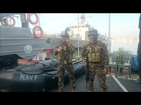 118th Anniversary Philippine Navy - HQ Access Part 1 (Naval Vehicles and Booths)