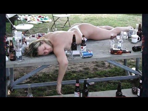 приколы видео про пьяных девушек
