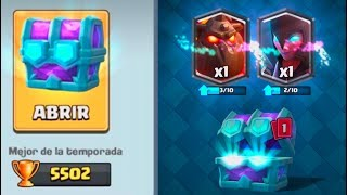 CLASH ROYALE | We did it!! LEGENDARY CHEST OF CHOICE!