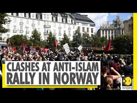 Norway | Anti-Islam protesters ripped pages from Muslim holy book | Anti-Islam rally | World News