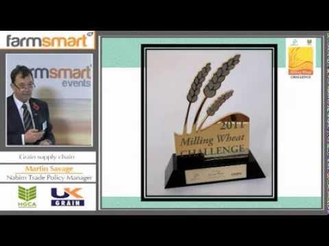 2013 UK Grain speaker Martin Savage