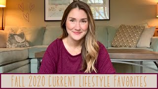 Fall 2020 Current Lifeṡtyle Favorites   Hair Care , Skin Care, Make up, Bags, Masks, Laundry, Coats!