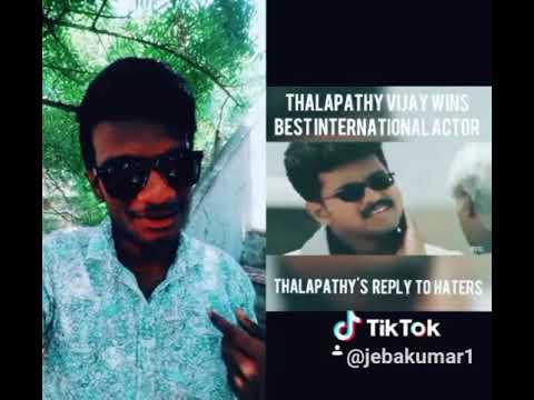 Thalapathy vijay anna bagavathi movie dialogue duet with thalapathy vijay anna 😍😍😍😍😘😘😘😘