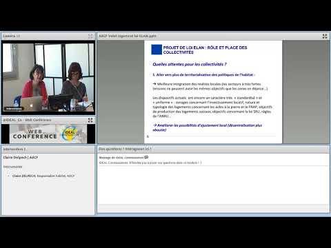 Web conférence - La loi ELAN - les dispositions relatives au parc social