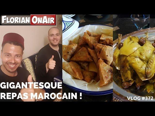 GIGANTESQUE REPAS MAROCAIN chez un abonné! - VLOG #372