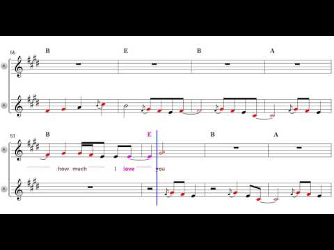 Wonderful Tonight - Eb Alto Sax Sheet Music [ ERIC CLAPTON ]