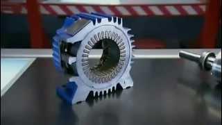 видео Электродвигатель с короткозамкнутым ротором
