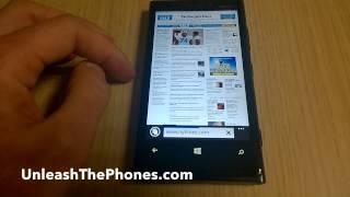 видео «Режим чтения» в Internet Explorer 11 на Windows 8.1