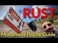 The RUST Puzzle Guide (with timestamps for each puzzle)