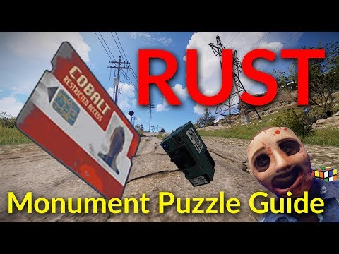 RUST Monument Puzzle Guide and Walkthrough