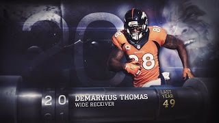 #20 Demaryius Thomas ( WR, Broncos) | Top 100 Players of 2015