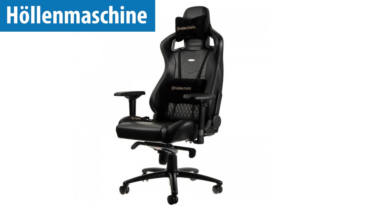 "Höllenmaschine 7 Gaming Stuhl ""EPIC"" Upgrade"