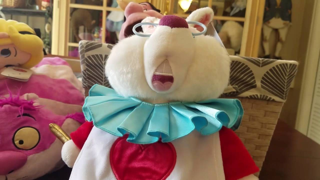 Largest Alice In Wonderland Plush Collection On Youtube Youtube