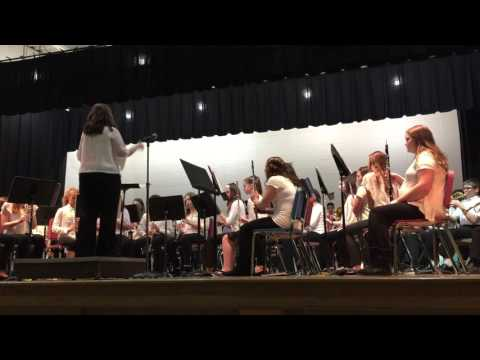 2016-03-09 Les Paul Middle SChool, Band 7: African Festival