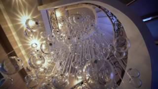 Люстра с шарами от фабрики света Sagarti(Большая люстра в межлестничное пространство! Изготовление люстр, подвесных светильник, одиночных подвесо..., 2016-12-16T12:39:49.000Z)