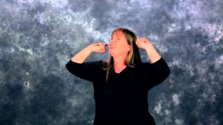 This is Amazing Grace in ASL & CC by Rock Church Deaf Ministry