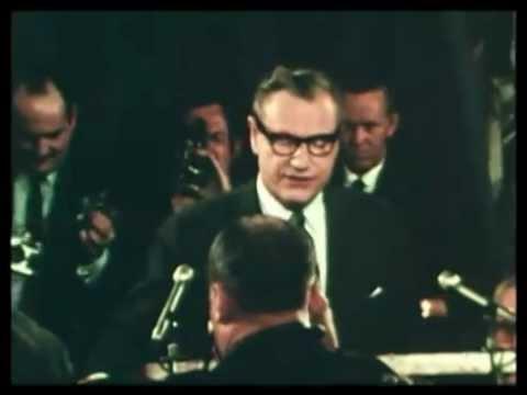Nelson Rockefeller Announcement 1968 ElectionWallDotOrg.flv