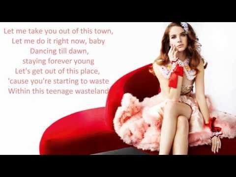 Lana Del Rey - Prom song (gone wrong) lyrics