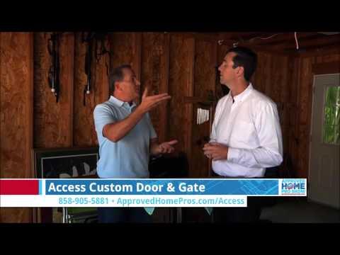 San Diego Garage Doors Common Garage Door Repairs Access On The