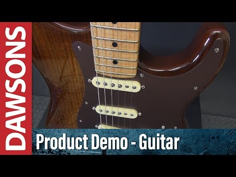 Fender 2017 Shedua Top Limited Edition Stratocaster Review