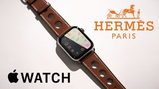 Mở hộp Apple Watch Hermès
