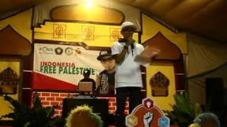 Ebith Beat A - Surat Cinta Dari Palestina - Konser Free Palestine di Ma'had Al-Kautsar