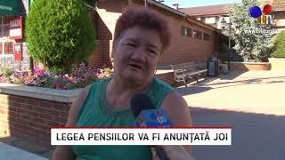 Legea pensiilor va fi anunțată joi - Litoral TV