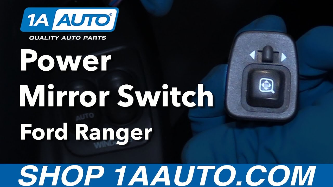 how to replace power mirror switch 95-07 ford ranger